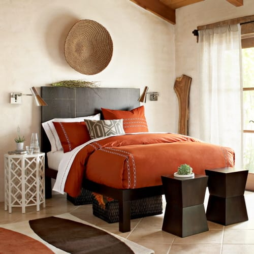 Rustic Block Side Tables Offer Decorating Flexibility 5