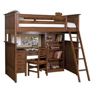 The Ultimate Bunk Bed / Desk Combination from Stickley Furniture 9