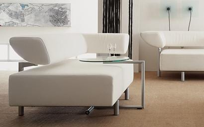 Arthe Sofa and Side Table by Cor Furniture of Germany 5