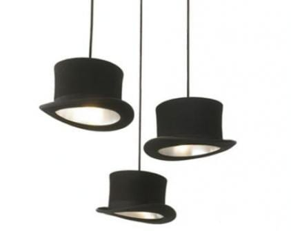 """""""Wooster"""" Pendant Lights Shaped Like Hats by Jake Phipps 9"""