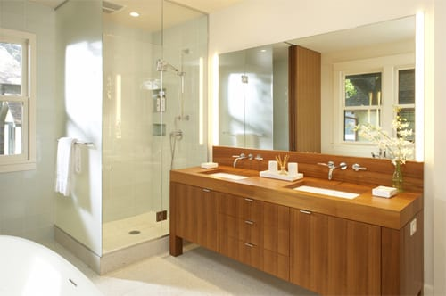 "Modern Bathroom Design for the ""Space Conscious"" Floor Plan 8"