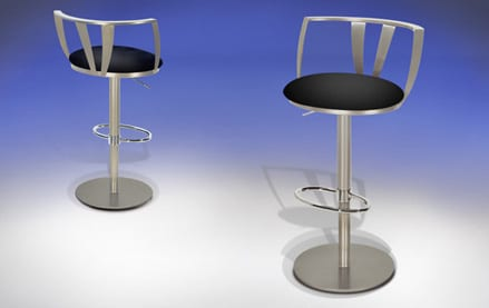 Height Adjustable Bar Stools from Elite Modern 9