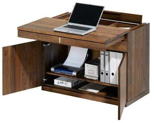 """""""All in One"""" Small Space Computer WorkStation from Team 7 9"""