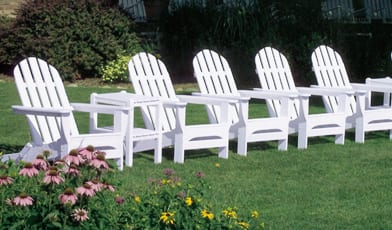 Adirondack Chairs and Furniture for Outdoor Decorating 9