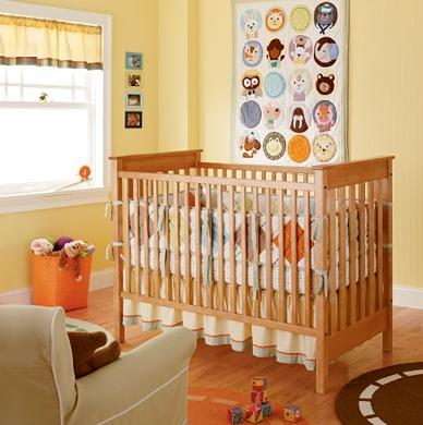 Animal Theme Baby Quilt and Crib Bedding 11