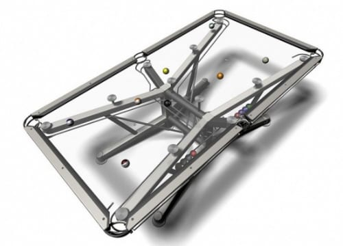 The G-1 Transparent Modern Pool Table by Craig Nottage 5