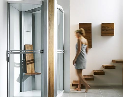 Steam Shower Relaxation with the Tylo Felicty Premium 16