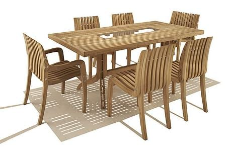 outdoor dining table and chairs rustic outdoor simple teak dining table and chair set