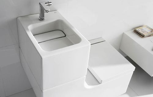 W+W by Roca : The Toilet and Sink Combination 5