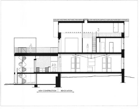 architectural drawing of home