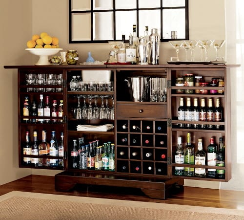 """The Well Stocked """"Modine Bar"""" from Pottery Barn 5"""