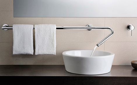 bathroom faucets wall mounted Neve