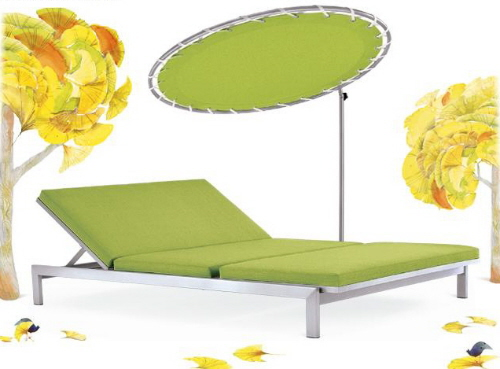 case study outdoor lounge chair