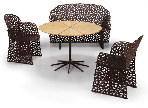 outdoor tables and chairs topiary collection richard schultz