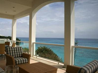 patio view in Bermuda