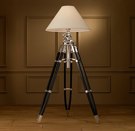tri pod floor lamps royal marine restoration hardware.jpg