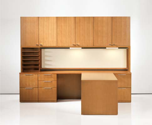 Desk and File Cabinets for home