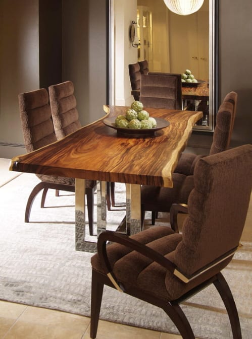 """A Real """"Solid Wood"""" Dining Table from Century Furniture 5"""