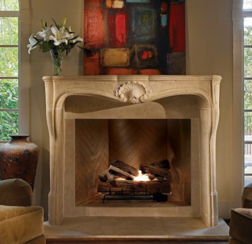 fireplaces in stone