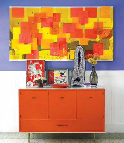 interior decorating with colors