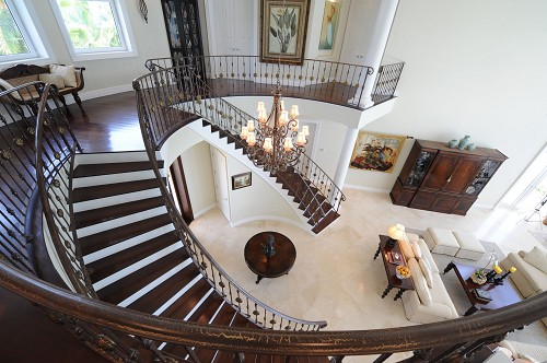 interior design with staircases