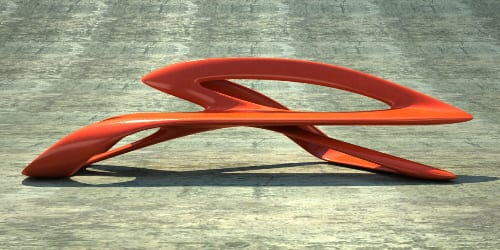 Hai Speed Benches :  Ultra Modern Furniture from Phillip Grass 9