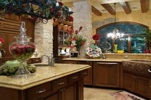 rustic kitchen with island austin texas.jpg