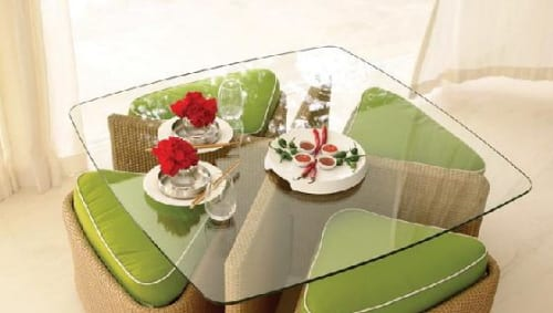 Sushi Dining Table and Chairs Set 10