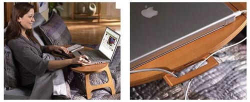 Lap Desk and Book Reading Stand in Bed