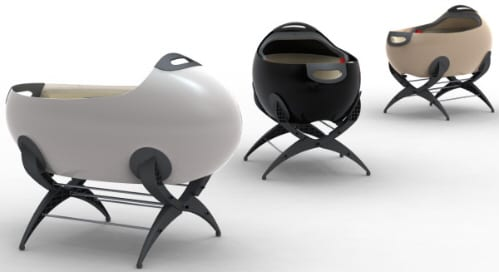 Babycotpod : Baby Bassinette / Crib of the Future