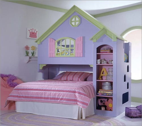Doll House Bunk Beds