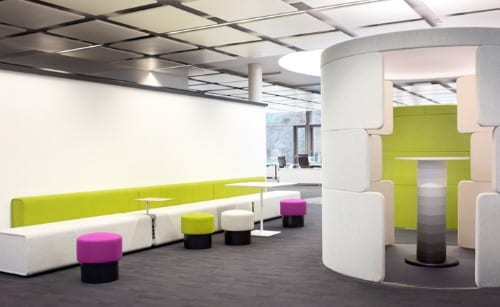 contemporary commercial office environments