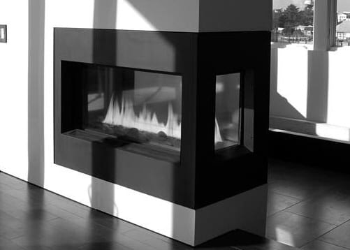 natural gas fireplaces two sided
