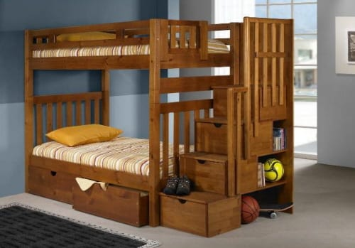 bunk beds and juvenile furniture