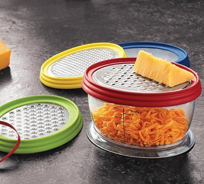 cheap cheese graters and store tupperware
