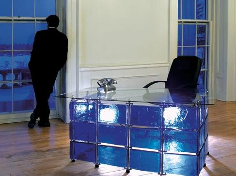 Stained Glass Furniture by Xander Blue