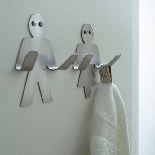 towel hangup hooks for the bathroom
