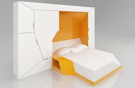 Boxetti Hide Away Wall Bed offers Space Saving Style