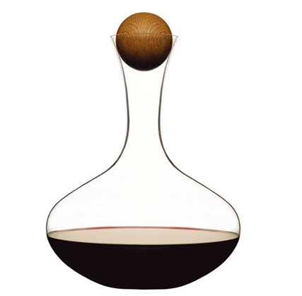 cognac and wine decanter