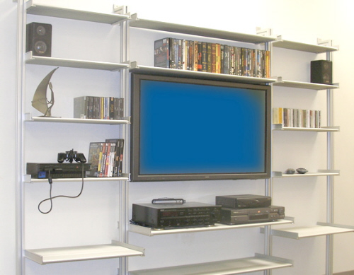 entertainment shelving systems