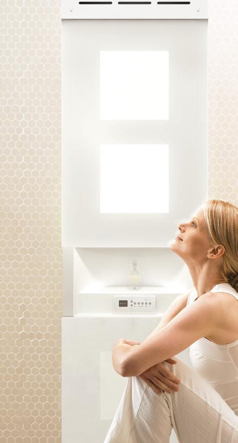 light therapy bathrooms