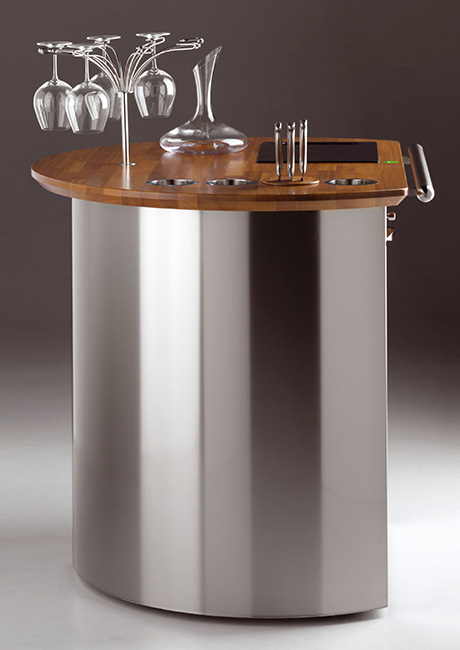 mobile wine bars for homes and houses