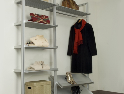 pole shelving systems