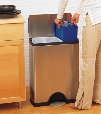 Trash Recycling Made Easy with Simplehuman Recycling Bins