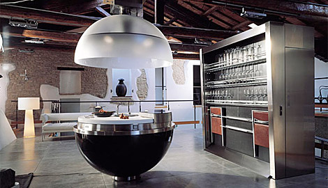 The Round Kitchen Island by Sheer