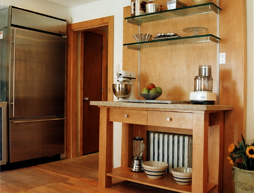 shelving in kitchens