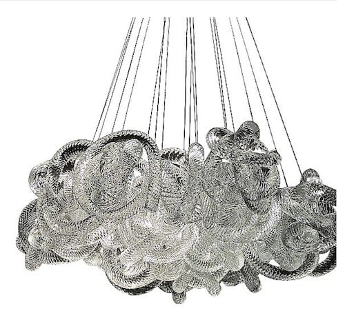 Cloud Round Chandelier by Stonegate Designs