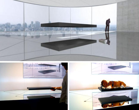 Magnetic Hover Bed