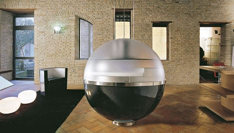 The Sheer Kitchen Makes Entraps a Full Kitchen in a Sphere