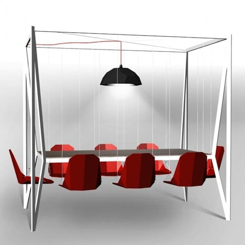 Duffy London's Swing Dining Table